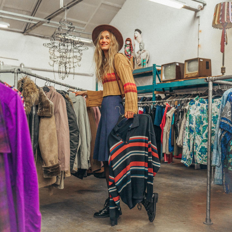 vintage kleding shoppen