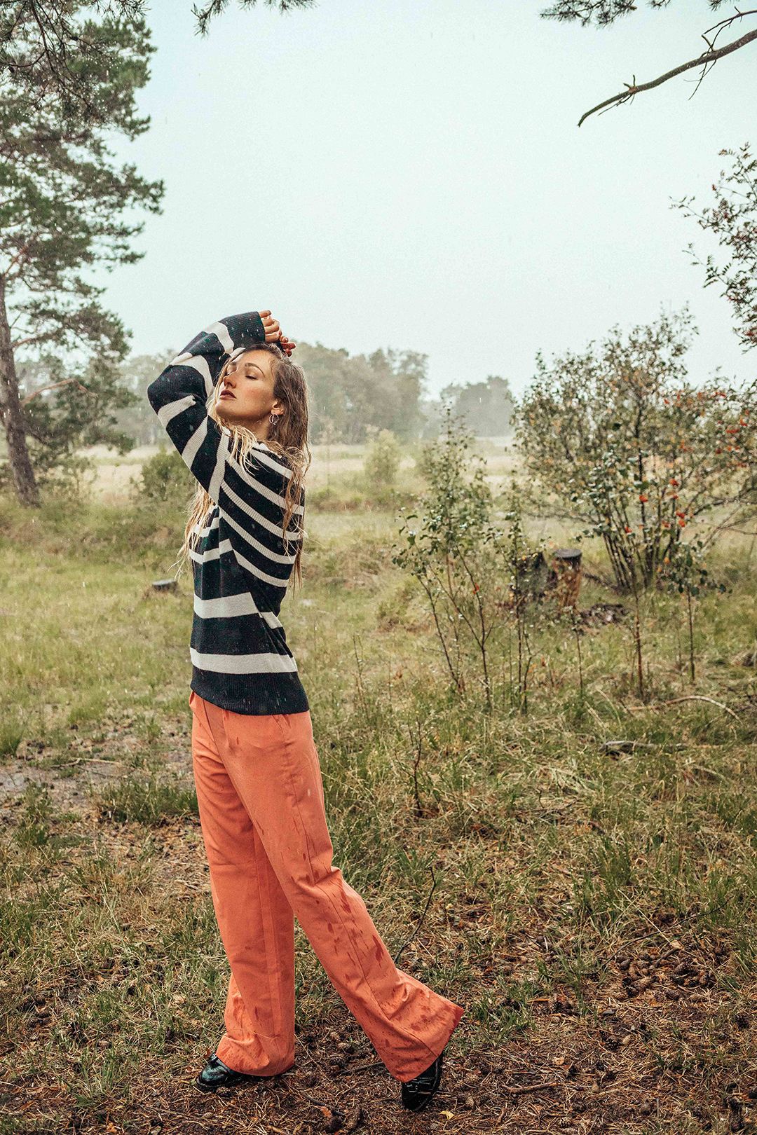 gestreepte sweater ecofriendly
