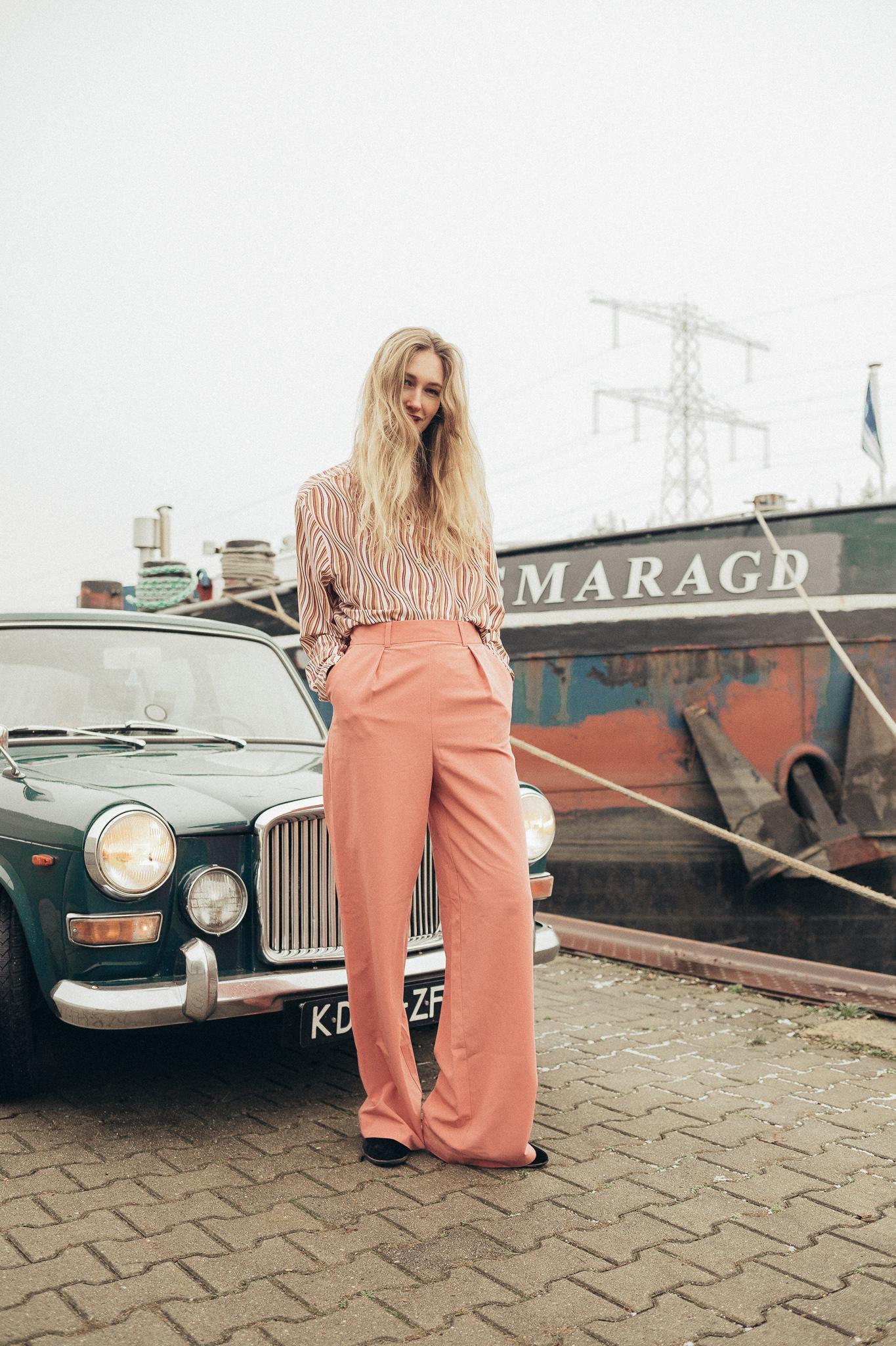 vintage en hedendaagse kleding