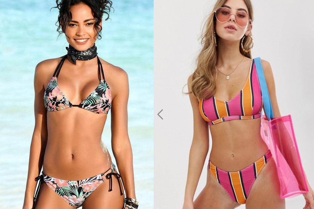 vrolijke bikini