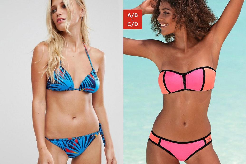 kleurrijke bikini