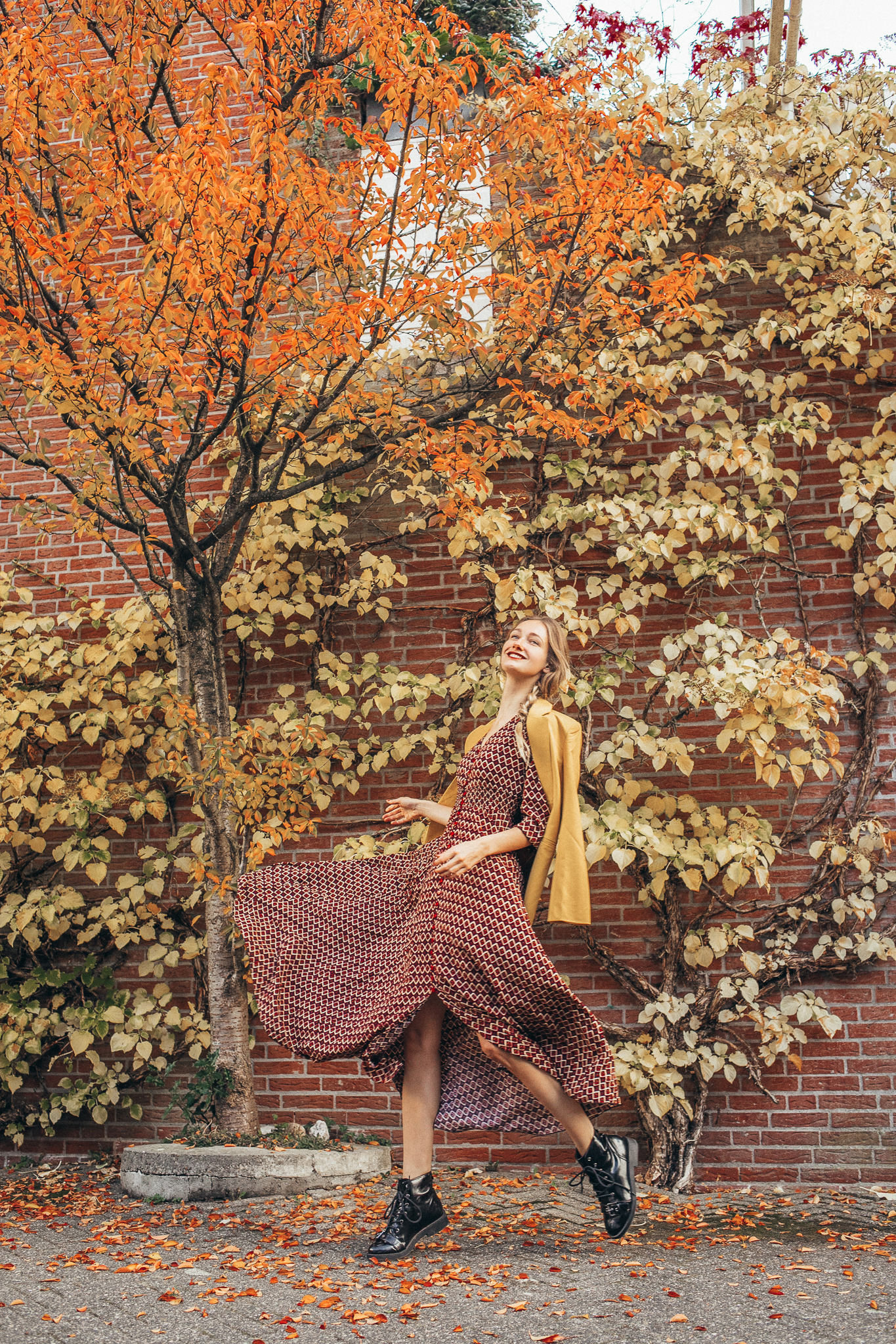 lange jurk patroon